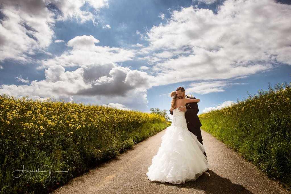 Fotoshooting Rapsfeld Hochzeitsfotograf