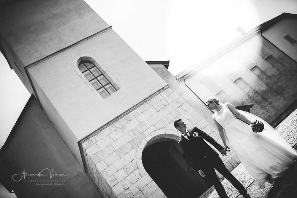 Kirche Schönenwerd - Outdoor Fotoshooting Gegenlicht