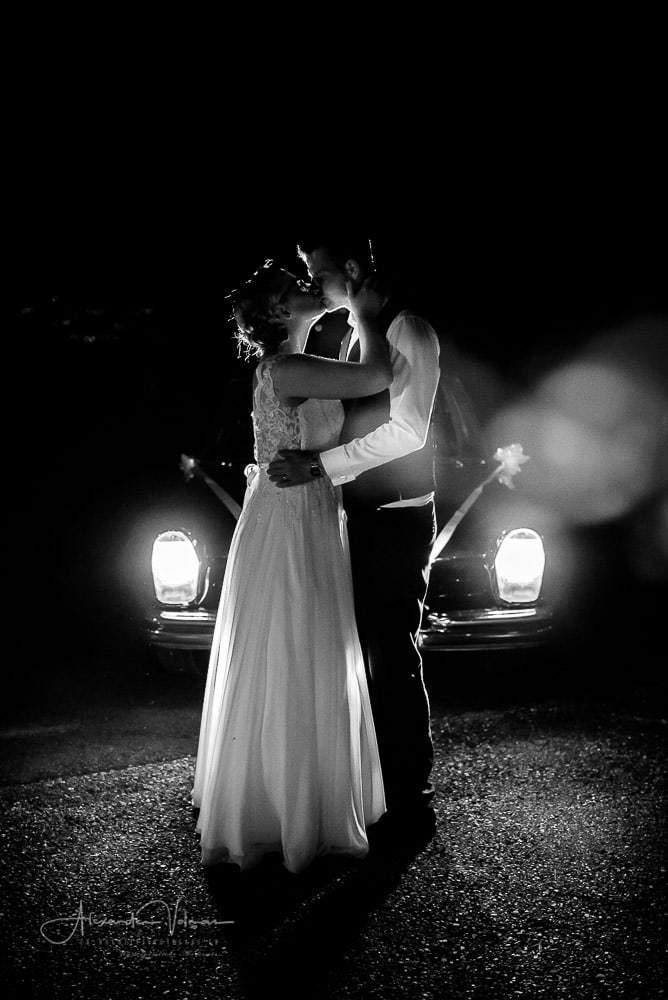 Kreative Hochzeitsreportage mit Mercedes