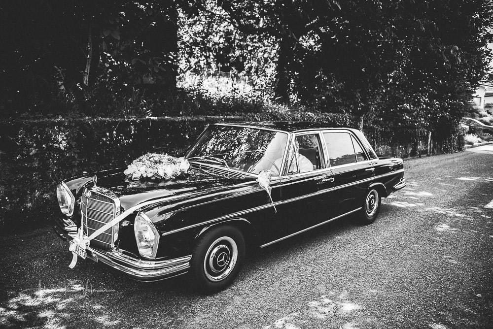 Oldtimer Mercedes by ch-hochzeitsfotograf.ch