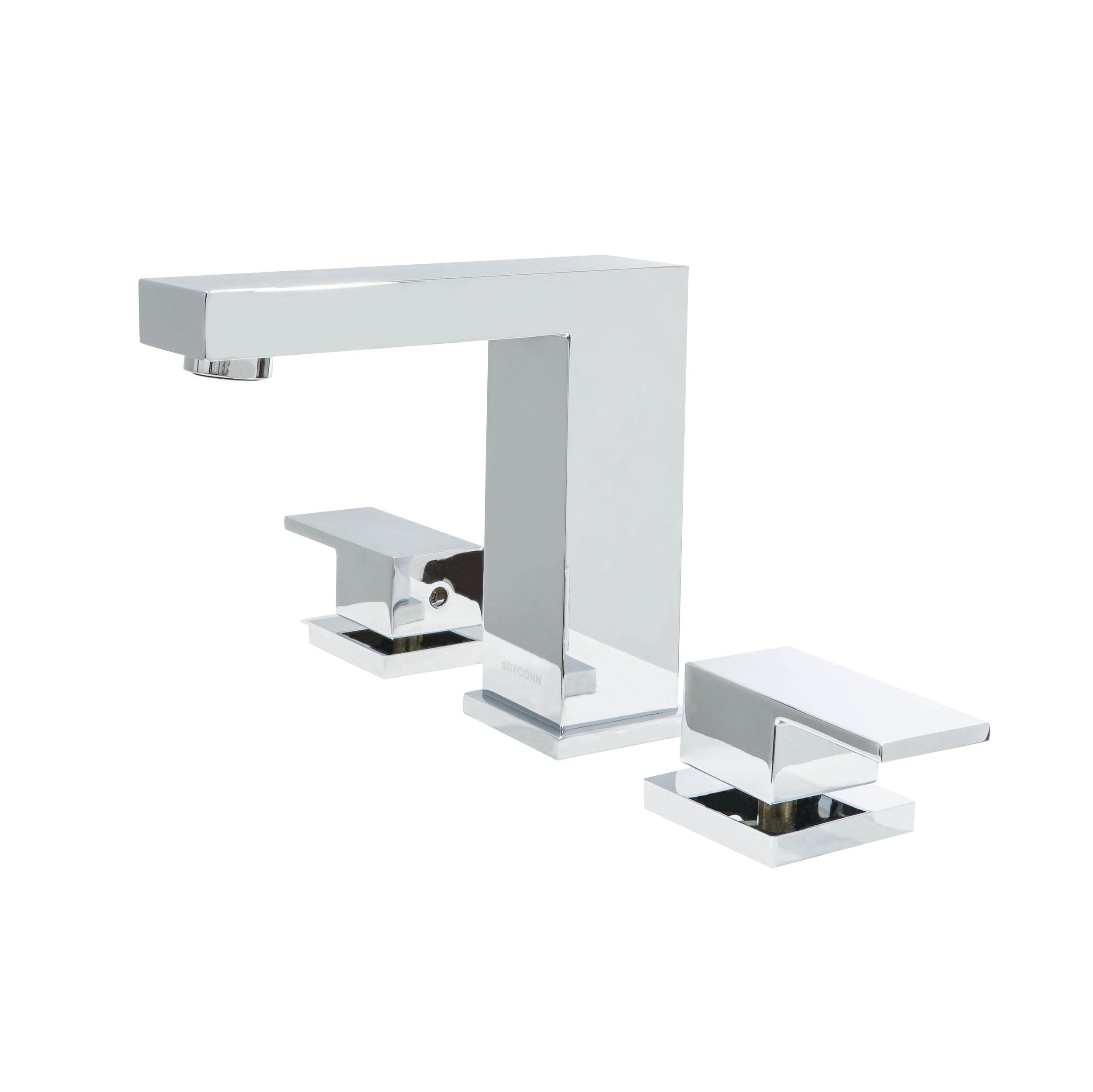 dyconn faucet ws3h11 sinclair 3 hole widespread bathroom faucet chrome