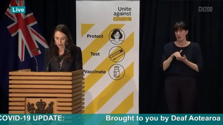 Covid-19 Update, brought to you by Deaf Aotearoa