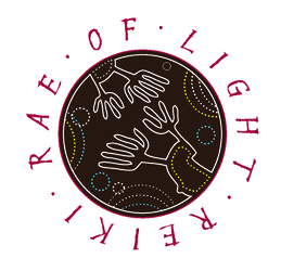 Rae of Light Reiki Logo