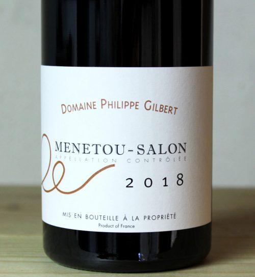 Philippe Gilbert Menetou-Salon Rouge 2018