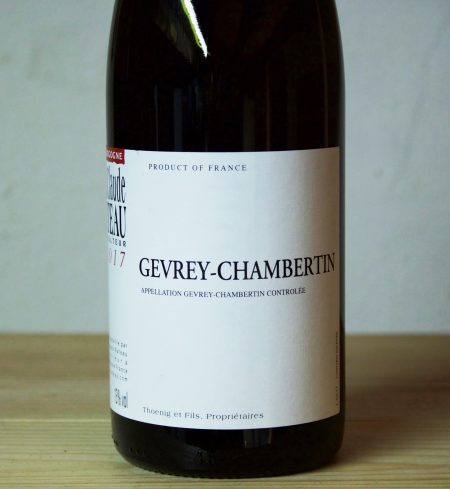 Jean-Claude Rateau Gevrey-Chambertin 2017
