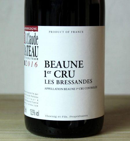 Jean-Claude Rateau Beaune 1er Cru 'Les Bressandes' 2016