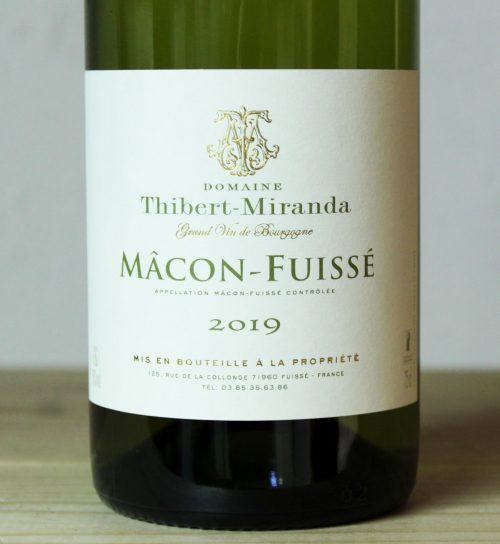 Domaine Thibert-Miranda Macon-Fuissé 2019