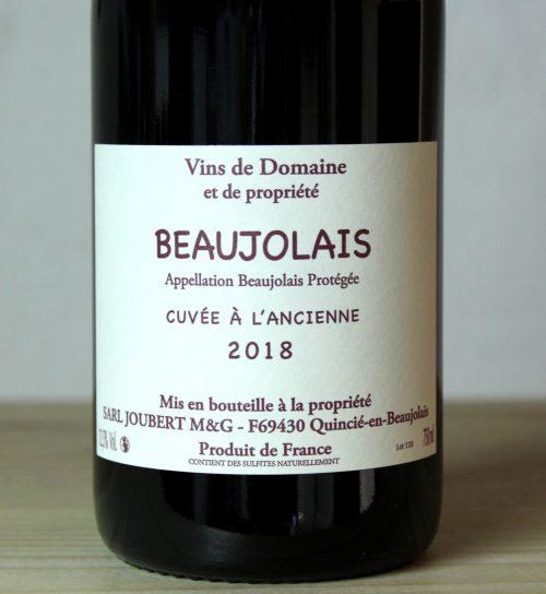 Domaine Marcel Joubert Beaujolais 'Cuvée l'Ancienne' 2018