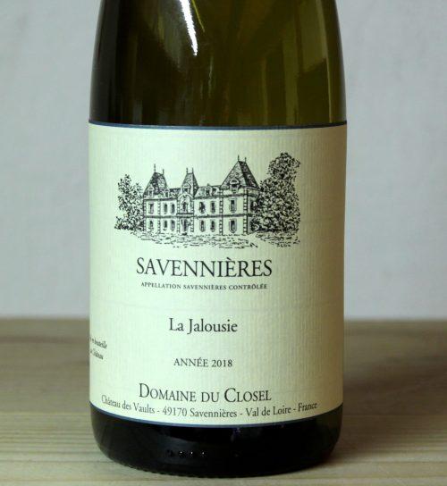 Domaine du Closel Savennières 'La Jalousie' 2018