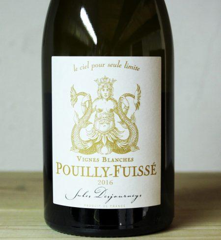 Jules Desjourneys Pouilly-Fuissé 'Les Vignes Blanches' 2015