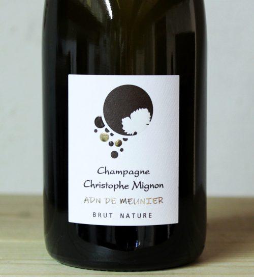 Christophe Mignon Champagne 'Pur Meunier' Brut Nature