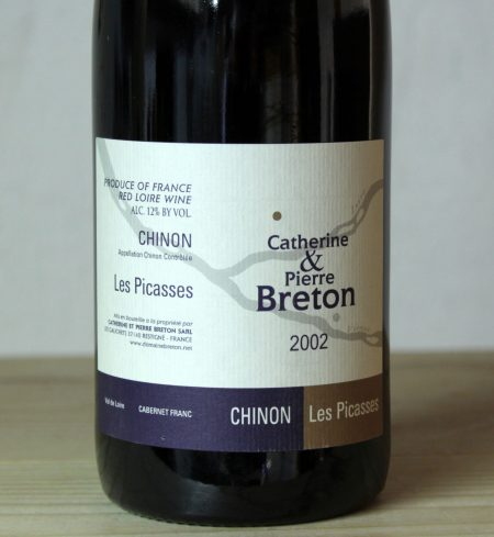 Catherine et Pierre Breton Chinon 'Les Picasses' 2002