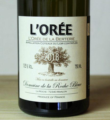 Domaine de la Roche Bleue 'L'Orée de la Berterie' 2018