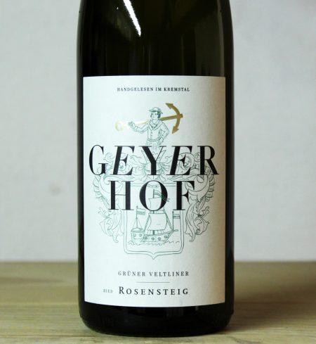 Geyerhof 'Rosensteig' Grüner Veltliner 2019