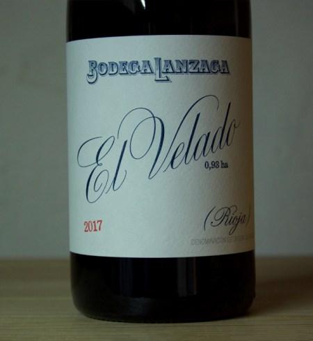 Bodega Lanzaga 'El Velado' Rioja 2017