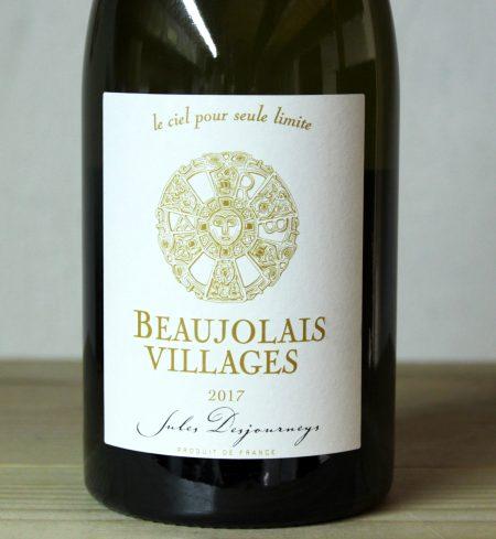 Domaine Jules Desjourneys Beaujolais Villages Blanc 2017