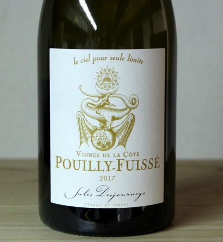 Domaine Jules Desjourneys Pouilly-Fuissé 'Vignes de la Cote' 2017