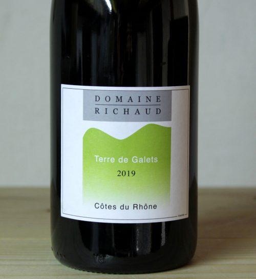 Domaine Richaud Cotes du Rhone 'Terres de Galets' 2019