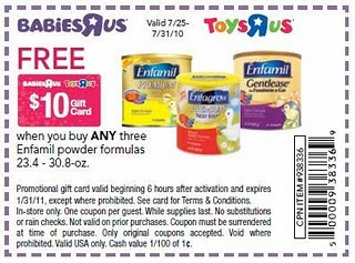 Toys R Us Enfamil Formula Deal Cha Ching On A Shoestring