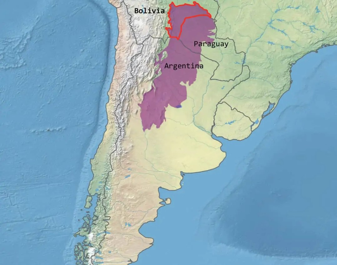 Bolivia Chaco Fund A map of the Chaco eco-cultural region