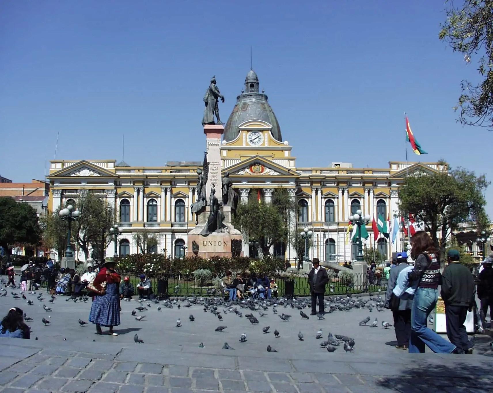 Bolivia's plurinational legislative assembly