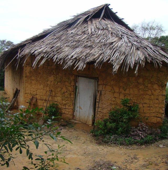 Ayahuasca ritual house