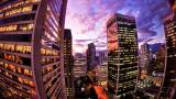 2014-01-09_en-ca10907905543_downtown-vancouver-fisheye-perspective-of-a-beautiful-sunset_1920x1080