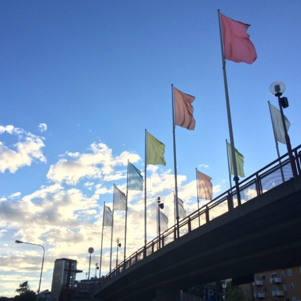 Stockholm-flags
