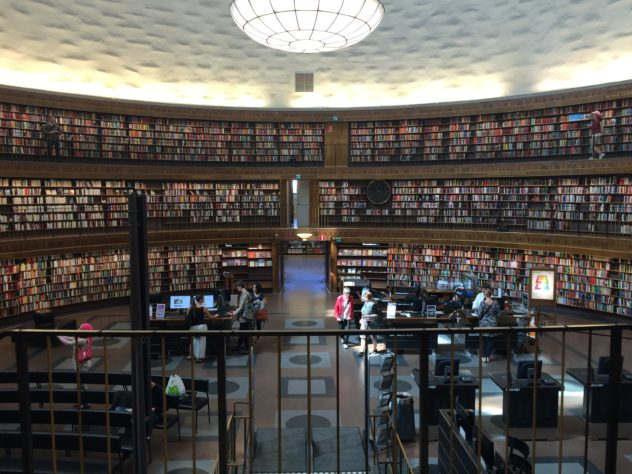 Stockholm-library