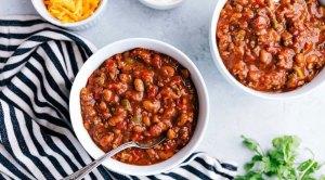 crockpot chili winter recipe
