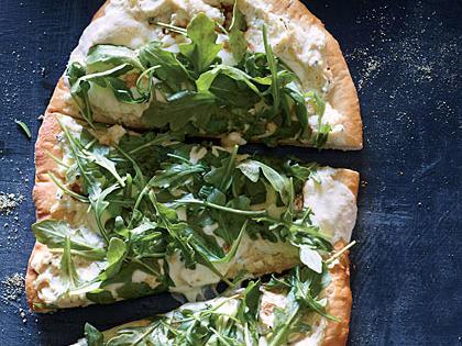 white pizza arugula recipe