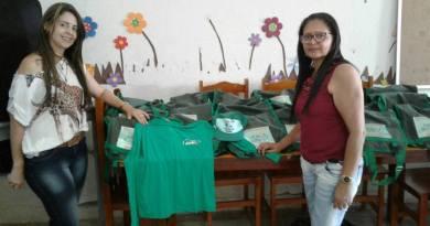 Secretaria Municipal de Saúde distribui Kits a Agentes do Municipio