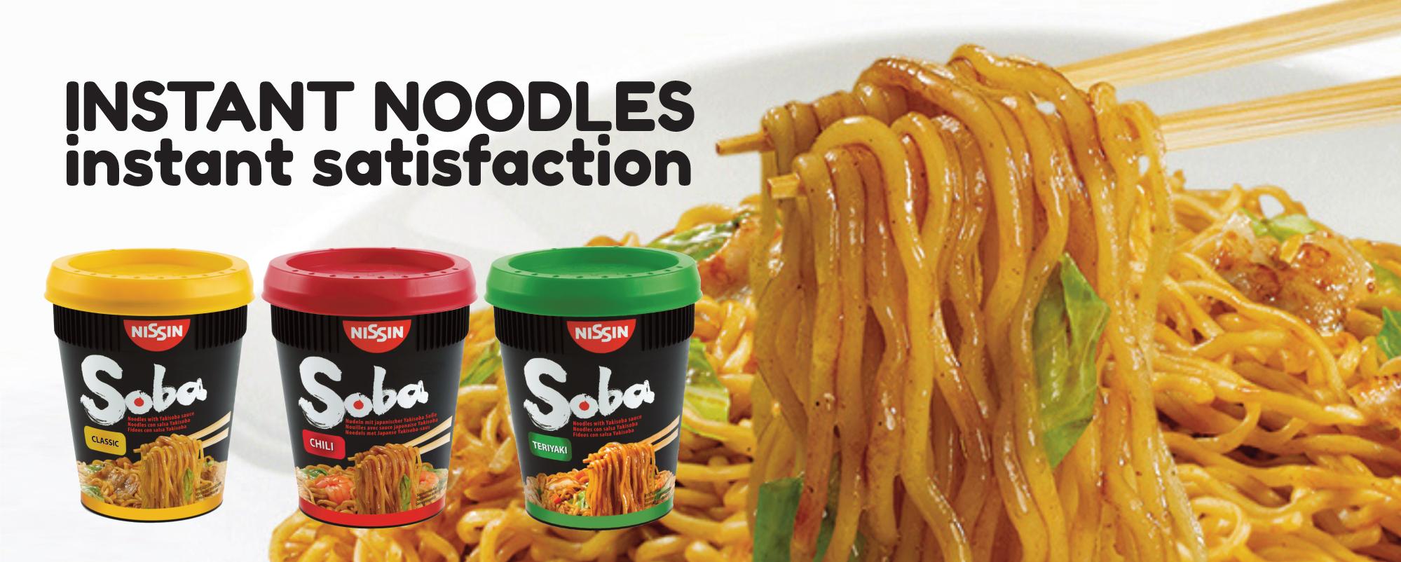 Nissin Soba Noodles