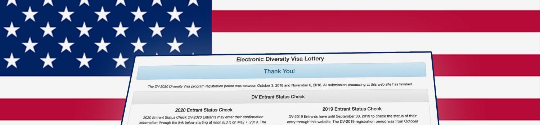 التسجيل في قرعة أمريكا 2020-2021 dvlottery