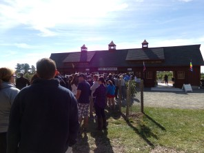 15 minutes after they open, and this is the line. This place is that good.