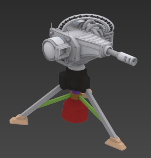 Another tripod turret in development