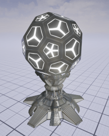 Ball plynth over-tech concept