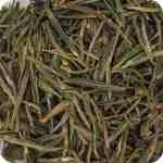 Folhas de chá amarelo