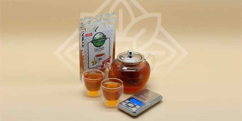 Kit Tea Lover + Chá Preto Agroflorestal Sítio Yamamaru 50g