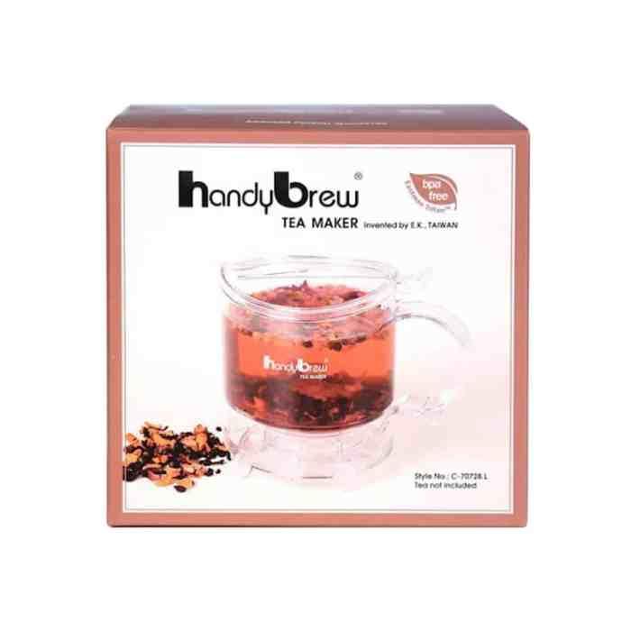 Embalagem da Handy Brew Tea Maker