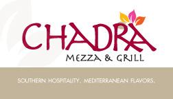 2011 Chadra Restaurant Gift Card Pix