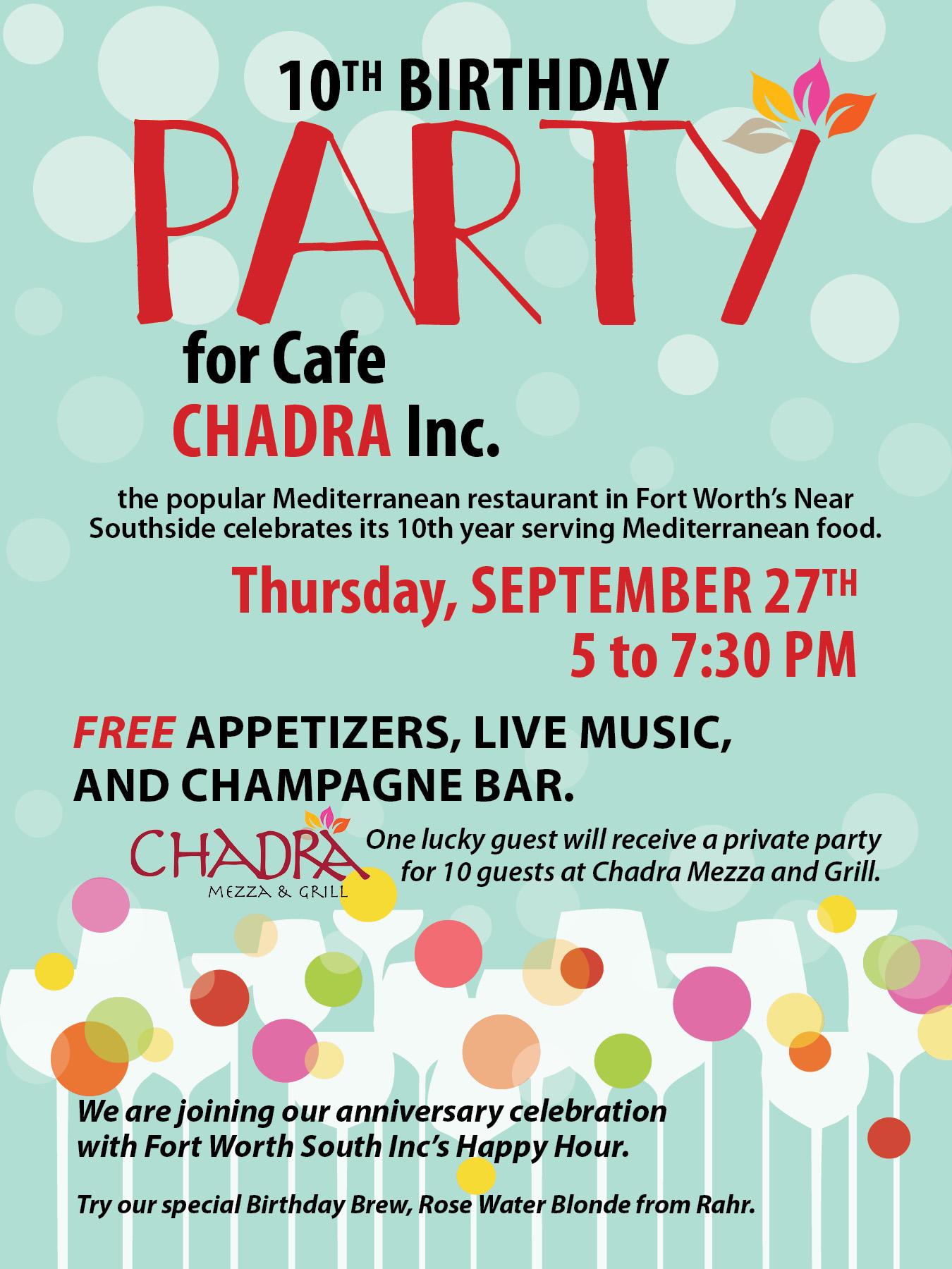 Chadra Bday Party 2