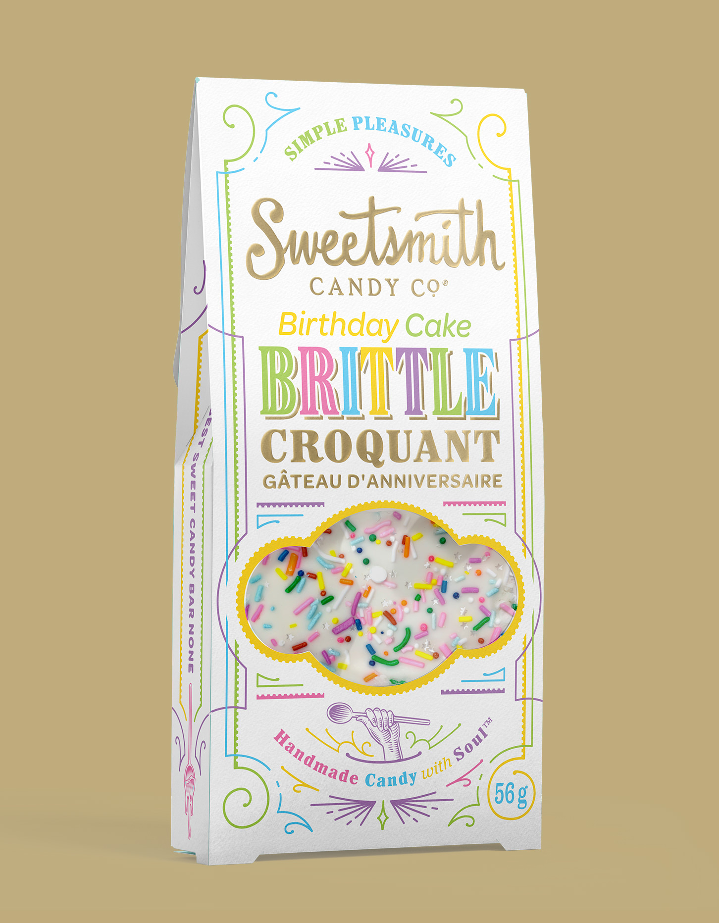 Chad Roberts Design Ltd. Sweetsmith Candy Co. Package Design