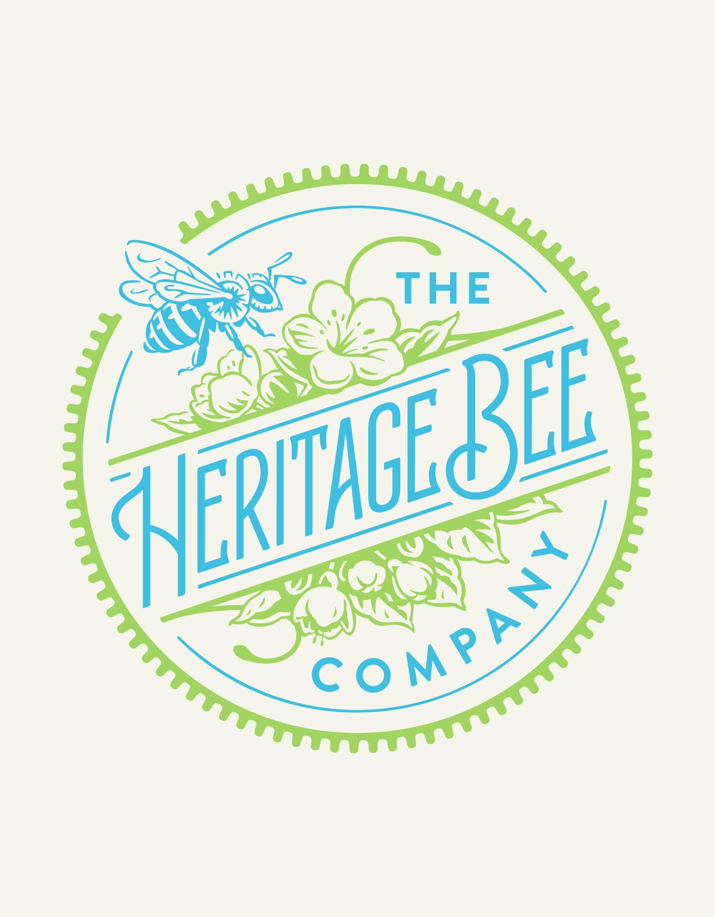 Chad Roberts Design Ltd. Heritage Bee Company Brand Identity Design