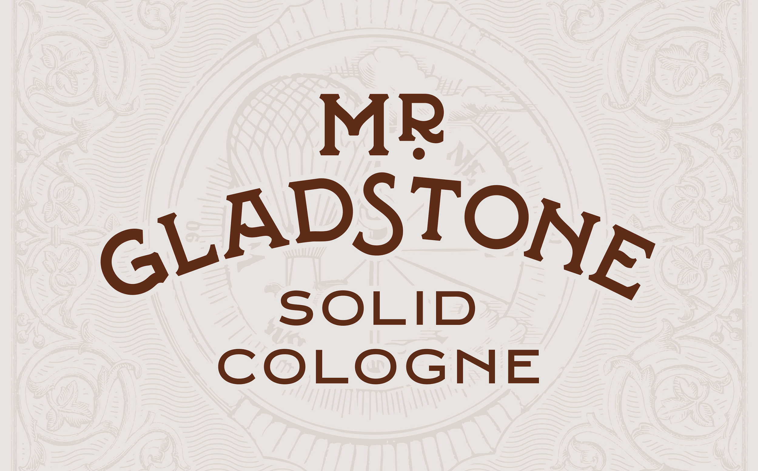 Chad Roberts Design Ltd. Mr. Gladstone Brand Identity Design