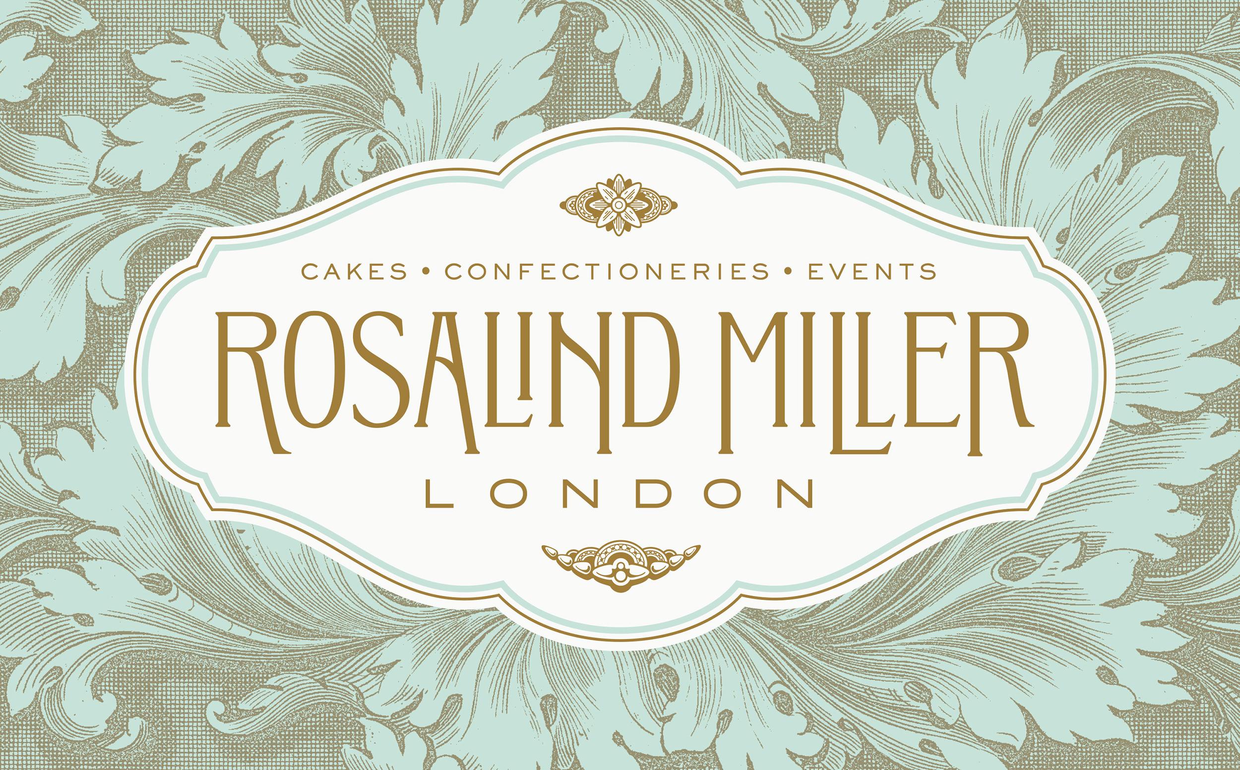 Chad Roberts Design Ltd. Rosalind Miller Brand Identity Design
