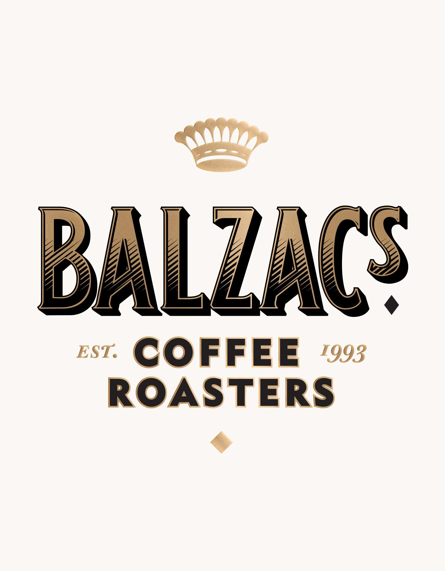 Chad Roberts Design Ltd. Balzac's Coffee Roasters Brand Identity Design