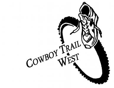 Cowboy Trail West logo