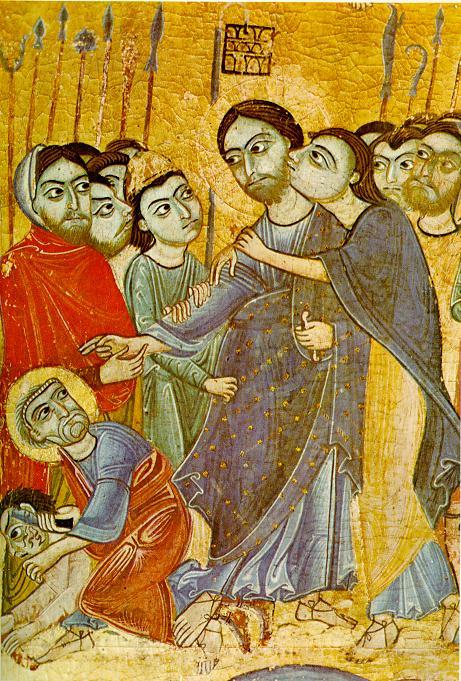 Kiss of Judas - Early 12th Century, Uffizi Gallery, Florence