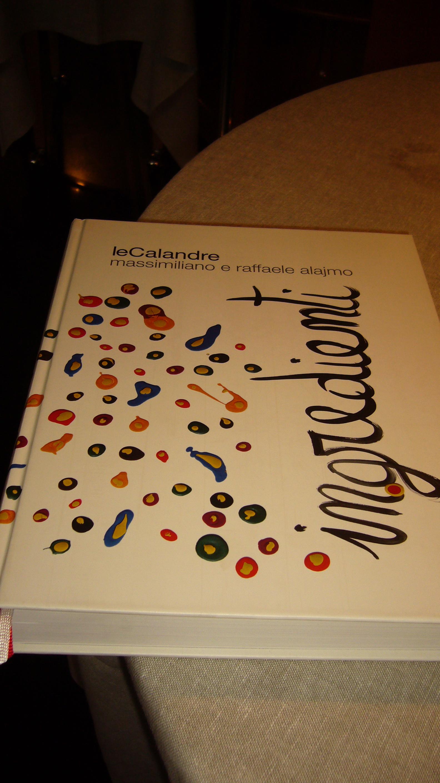 Calandre Cookbook
